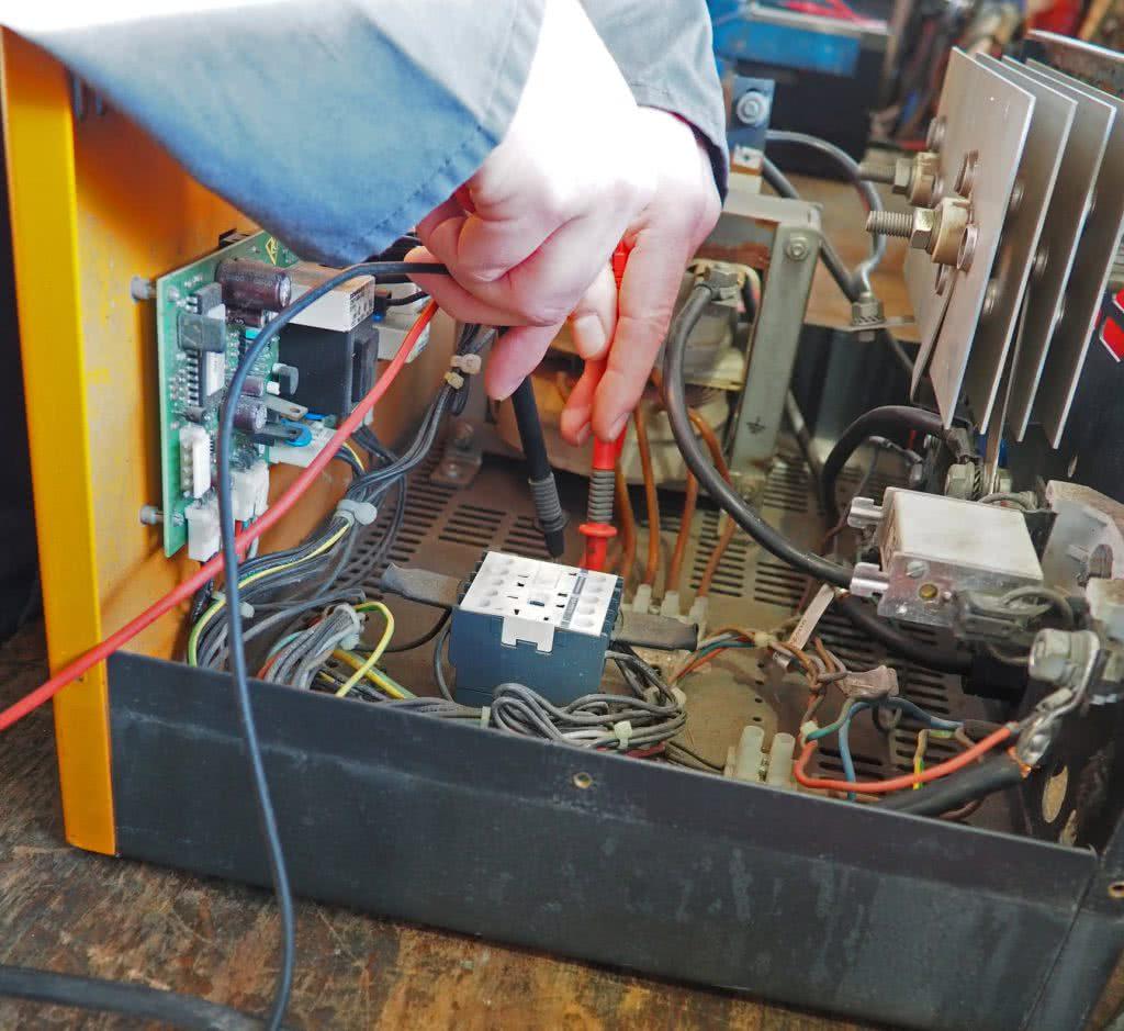 Reparatur Ladegerät